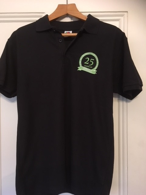 Polo Shirt 25 Years WRAGS Embroidered Logo