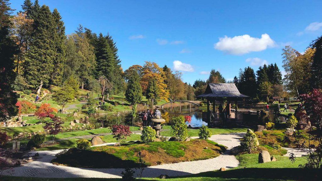Scotland - Visit to The Japanese Garden at Cowden Castle