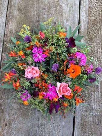 Northumberland - Projects Using Seasonal Garden Flowers